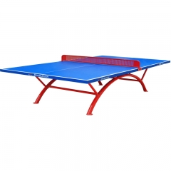 Outdoor Waterproof Single Folding Ping Pong Table