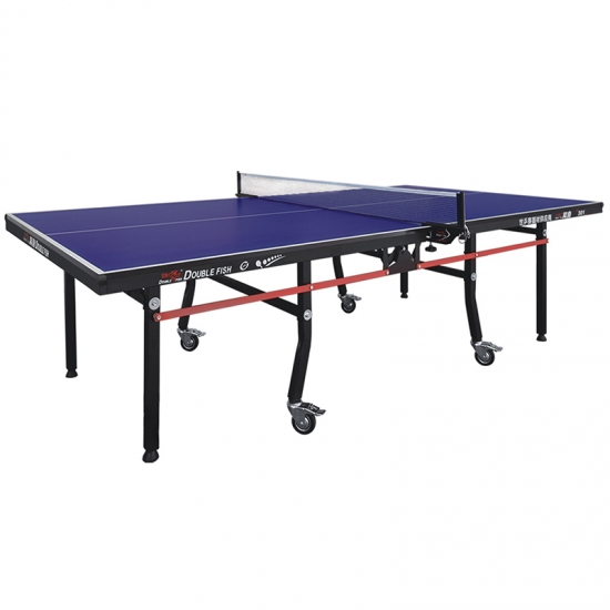 Double Folding Portable Table Tennis Table for Training